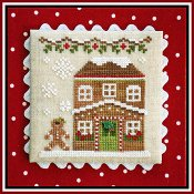 Country Cottage Needleworks - Gingerbread Village #8 - Gingerbread House 5 THUMBNAIL