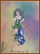 Cross Stitching Art - Dance of Esmeralda