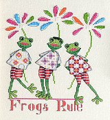 MarNic Designs - Frogs Rule THUMBNAIL