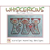 Carolyn Manning Designs - Whiskerkins - May Flower Felines THUMBNAIL