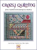 Carolyn Manning Designs - Crazy Quilting June Block THUMBNAIL