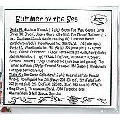 Jeannette Douglas Designs - Summer By The Sea Embellishment Pack THUMBNAIL