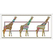 Vickery Collection - Giraffe Parade