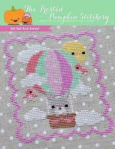 The Frosted Pumpkin Stitchery - Up Up And Away! MAIN