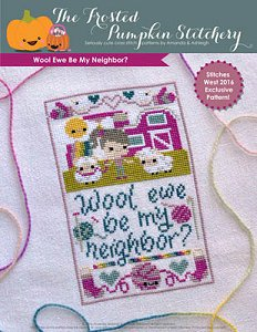 The Frosted Pumpkin Stitchery - Wool Ewe Be My Neighbor? MAIN
