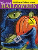 Just Cross Stitch 2016 Halloween Special Collector's Issue