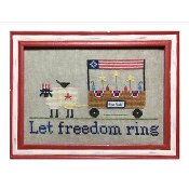 Needle Bling Designs - The Sheep Peddler - Let Freedom Ring