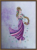 Cross Stitching Art - Rapunzel THUMBNAIL