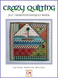 Carolyn Manning Designs - Crazy Quilting July Block_MAIN