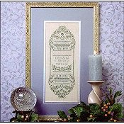 The Sweetheart Tree - Sparkling Forget-Me-Not Sampler THUMBNAIL