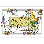 Vickery Collection - Biking Birds THUMBNAIL