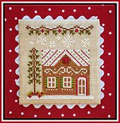 Country Cottage Needleworks - Gingerbread Village #10 - Gingerbread House 7 THUMBNAIL