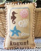 Needle Bling Designs - What's In Your Jar Monthly Series - August