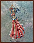 Cross Stitching Art - Arabian Nights, The