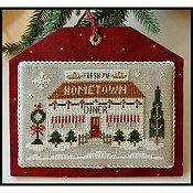 Little House Needleworks - Hometown Holiday Series - #12 Diner