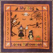 MTV Designs - My Dog Loves Halloween
