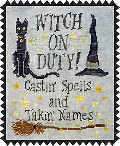 Waxing Moon Designs - Witch On Duty MAIN