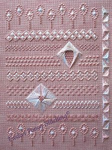 Freda's Fancy Stitching - Pretty On Pink_MAIN