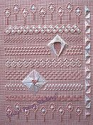 Freda's Fancy Stitching - Pretty On Pink