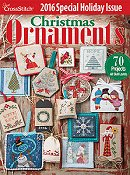 Just Cross Stitch 2016 Christmas Ornament Issue