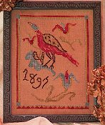 Dames of the Needle - 1897 Fraktur