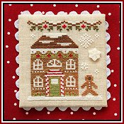 Country Cottage Needleworks - Gingerbread Village #11 - Gingerbread House 8