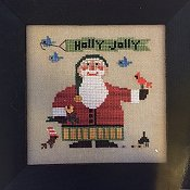 Heart In Hand Needleart - Wee One - Wee Santa 2016