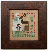 Heart In Hand Needleart - Wee One - Merry Christmas To All THUMBNAIL