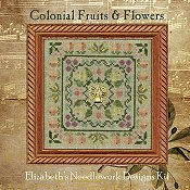 Elizabeth's Designs - Colonial Fruits & Flowers