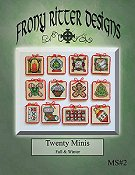 Frony Ritter Designs - Twenty Minis Fall & Winter THUMBNAIL