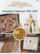 Just Cross Stitch DVD Sampler & Antique Needlework Collection 1991-2015