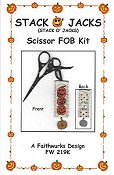 Faithwurks Designs - Stack O' Jacks Scissor Fob Kit