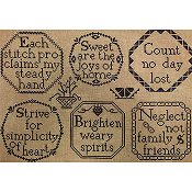Needle Work Press - Quaker-Inspired Medallions