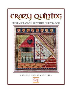 Carolyn Manning Designs - Crazy Quilting September Block MAIN