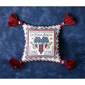 The Sweetheart Tree - Tweenie Tweenie 202 Patriotic Pincushion