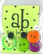 Amy Bruecken Designs - Just A Little Wicked Embellishment Pack