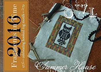 Summer House Stitche Workes - Fragments In Time 2016 Series - Owl MAIN