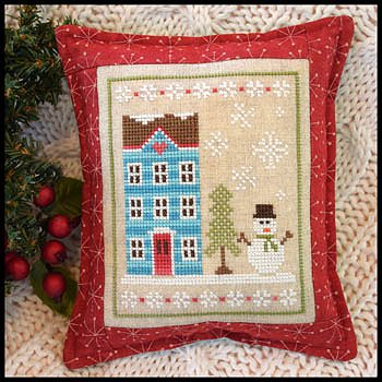 Country Cottage Needleworks - Snow Place Like Home - Snow Place 1 MAIN