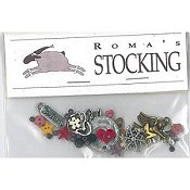 Shepherd's Bush - Roma's Stocking Embellishment Pack