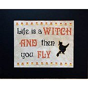 Pickle Barrel Designs - Life Is A Witch