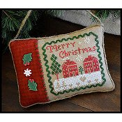 Little House Needleworks - Merry Christmas Pillow THUMBNAIL