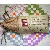 Death By Thread - Honeysuckle Sampler THUMBNAIL