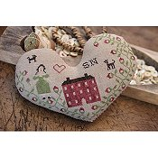 Stacy Nash Primitives - Heart Pinkeep THUMBNAIL