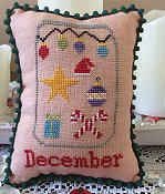 Needle Bling Designs - What's In Your Jar Monthly Series - December