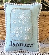 Needle Bling Designs - What's In Your Jar Monthly Series - January