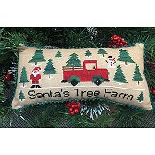 Needle Bling Designs - Santa's Tree Farm