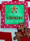 Amy Bruecken Designs - Christmas Calories