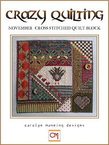 Carolyn Manning Designs - Crazy Quilting November Block_MAIN
