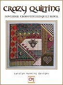 Carolyn Manning Designs - Crazy Quilting November Block