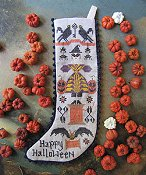 Kathy Barrick - Halloween Stocking